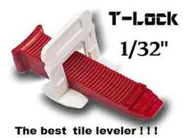 1 32 t lock tile leveling system complete kit wall floor spacers