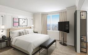 100 New York Style Bedroom Luxury Hotels In Midtown The London NYC