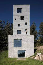104 House Tower Concrete Designed With Live Work Space