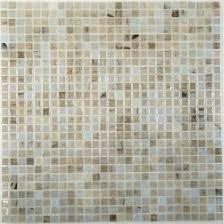 Iridescent Mosaic Tiles Uk by Hirsch 3 8 U0027 U0027 X 3 8 U0027 U0027 Cream Beige Glass Square Tile Glossy