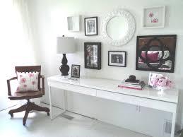 White Makeup Desk With Lights by Long White Desks Long Office Tables Richfielduniversityus Cosy