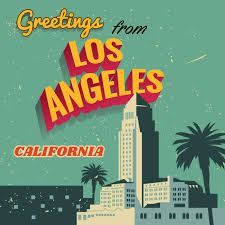 Official California State Flag Vector Elegant Vintage Los Angeles Typography Download Free Art Stock