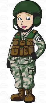 A Female Tank Operator