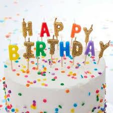 bunte geburtstagskerzen happy birthday zum aufstecken auf kuchen torten ebay