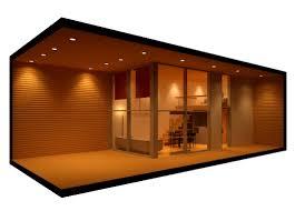 100 Container Hous E 3D Model