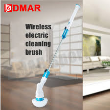 dmar swimming pool cleaning brush household electric tool bathroom