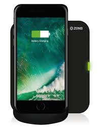 ZENS iPhone 7 Wireless Charging Case Qi & MFi incl charger