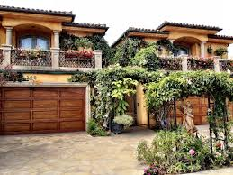 Small Narrow House Plans Colors Small Spanish Mediterranean Homes Style House Plans With Courtyard
