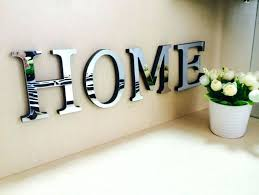 Decorative Lettering For Walls Impressive Design Ideas Letters Wall
