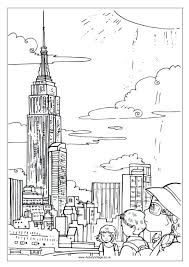 New York Coloring Pages Printable Rangers Giants