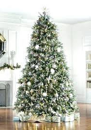 Target Pre Lit Trees Artificial The Fir Faux Tree Includes Clear Lights Snow
