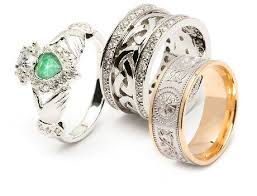 Celtic Wedding Bands & Engagement Rings