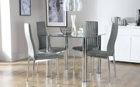 Glass Dining Room Tables Table Popular Sets And For Elegant House Chairs Remodel