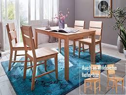 möbelando holzstuhl küchenstuhl stuhl esszimmerstuhl viefuß massivholz maxiv i 2er set buche natur massiv geölt