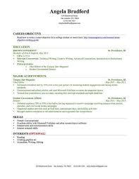 Resume Examples No Experience ResumeExamples