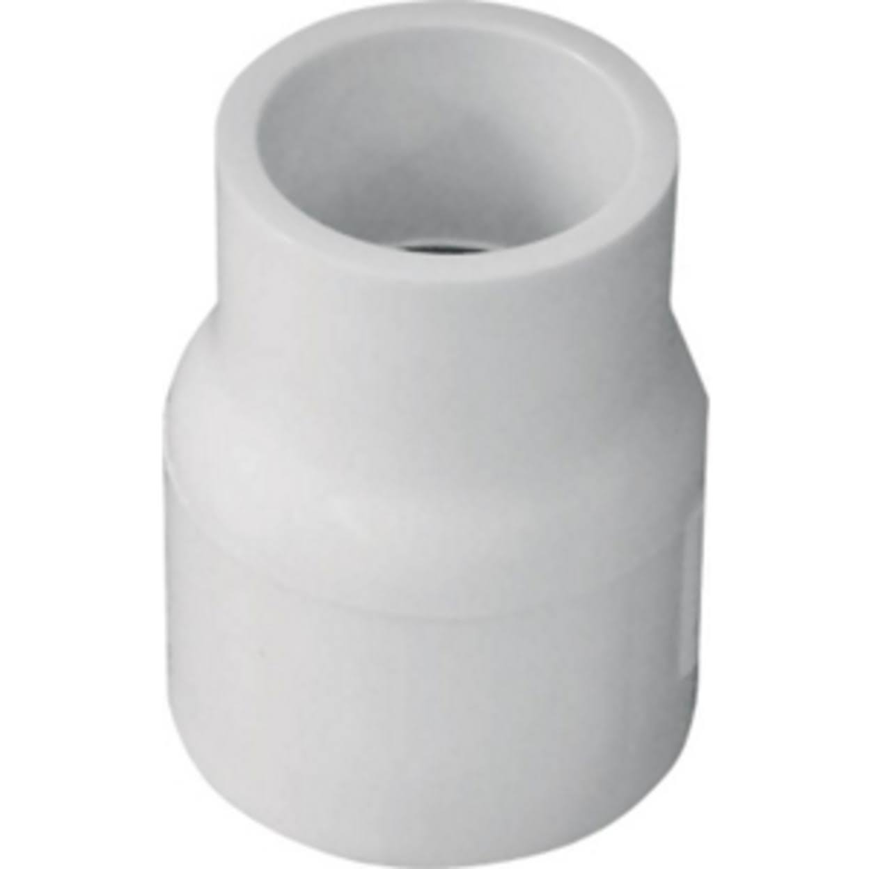 "Genova Products Pvc Schedule 40 Reducing Coupling - 1"" x 3/4"""