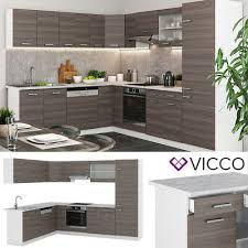 vicco küchenzeile r line eckküche winkel küche einbauküche