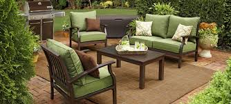 FurnituresStunning Green Seat Wooden Style Patio Furniture Design Cozy Rustic Outdoor