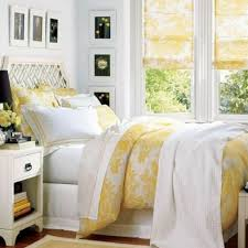 Inspiring Girl Yellow Bedroom Decoration Using Accent Light Curtain And Drapes Including
