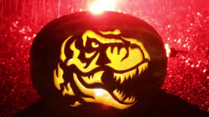 Dinosaur Pumpkin Carving Patterns by Tyrannosaurus Rex Watermelon Carving Youtube