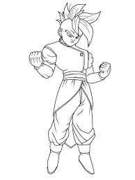 Dragon Ball Z Printable Coloring Pages Kids Play Color