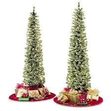 Sears Artificial Christmas Trees Unlit by 7 Best Slim Christmas Tree Images On Pinterest La La La Church