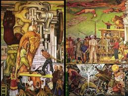 Famous Mexican Mural Artists by Mexican Muralist Movement