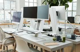 solution bureau quickstand solution bureau assis debout manuelle humanscale
