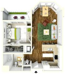 100 One Bedroom Design Gorgeous Apartment S Plans Two 3