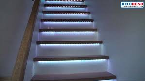 les rubans led l éclairage idéal pour votre escalier