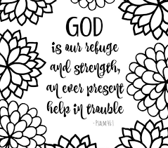 Christian Coloring Pages Free Printable Bible Verse With Bursting Blossoms