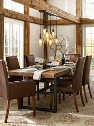 Spectacular Rustic Dining Tables Made Of Solid Wood