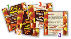 Tainted Halloween Candy 2014 by Halloween Tracts Archives Memory Cross