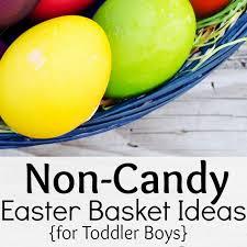 Non Candy Easter Basket Ideas For Toddler Boys