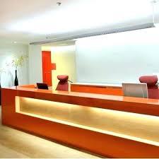 Front Desk Counter Design Reception Hotel
