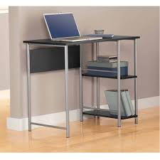 office table naples compact computer desk and hutch in white