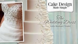 Wedding Dress Cake Decorating line Class