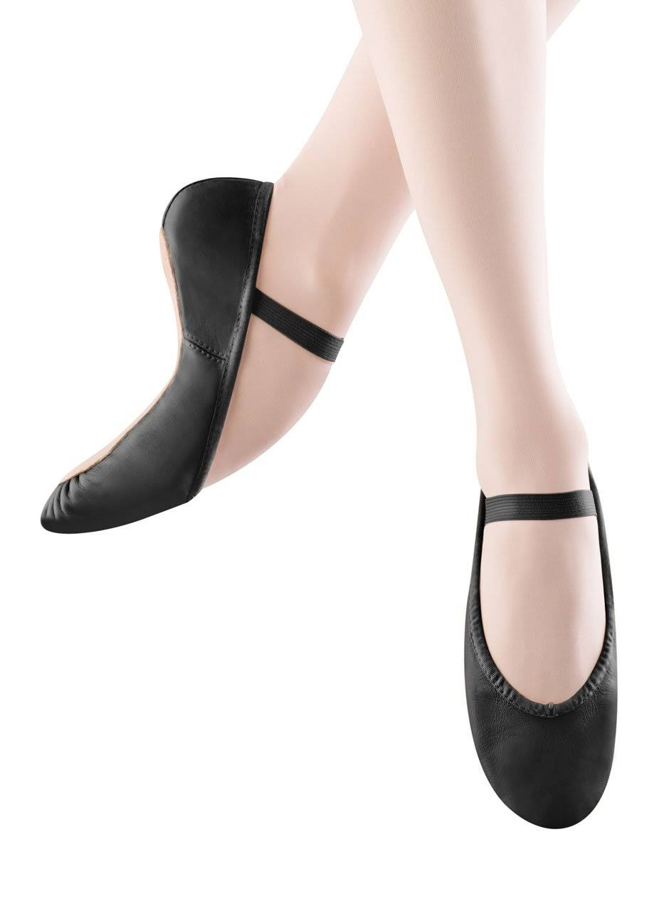 Bloch Dance Dansoft Ballet Slippers - Black