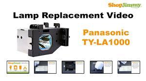 panasonic dlp tv repair replacing installing ty la1000 dlp