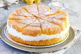 köstlich luftige käse sahne torte