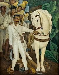 David Alfaro Siqueiros Murales Y Su Significado by Wikimexico Emiliano Zapata En El Muralismo Mexicano