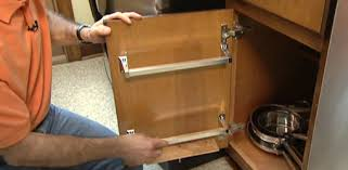 How to Make a Kitchen Cabinet Rack to Store Lids for Pots
