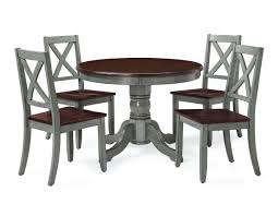 Amazon.com - Home Joy 4 People Dining Table Set 5pc Farmhouse 42in ... Timelessly Charming Farmhouse Style Fniture For Your Home Interior Rustic Round Ding Table 6 Ideas 30 House X30 Inch Modern Farm Wood You Kitchen Extraordinary Narrow Room Black Chairs Photos And Pillow Weirdmongercom Hercules Series 8 X 40 Antique Folding Four Bench Set Luxury Affordable Grosvenor Wooden With Gray White Wash Top Classic Base Criss Cross Includes Two Benches E Braun Tables Inc Back Burlap Cushions Amish Sets Etc