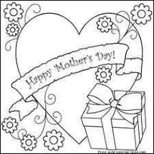 Mothers Day Coloring Printable Mothers Day Coloring Pages
