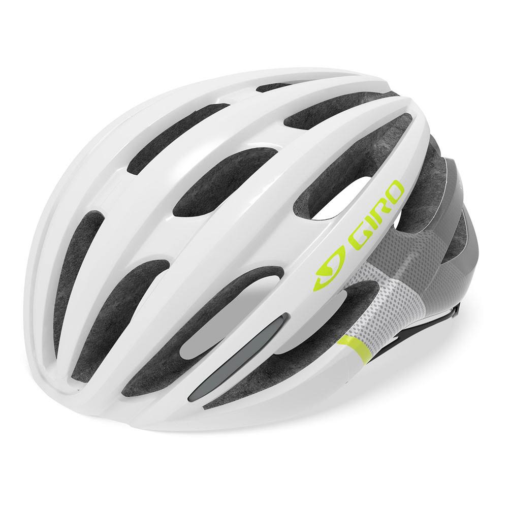 Giro Saga MIPS Women's Bike Helmet - White-Grey-Citron