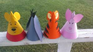 130 Best Winne The Pooh by 8 Winnie The Pooh Birthday Party Hats Pooh U0026 Frends