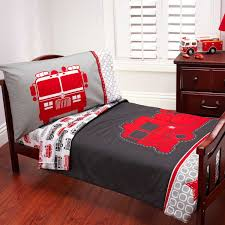 Carter's 4-Piece Fire EngineToddler Bed Set | Shared By LION | Cool ...
