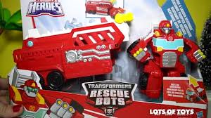 100 Rescue Bots Fire Truck Dragon Transformers Hook Ladder Heatwave Drake The Dragon Bot