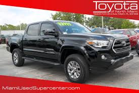 100 Used Pickup Truck Beds For Sale Certified PreOwned 2017 Toyota Tacoma SR5 Crew Cab In Miami