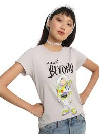 toy story buzz lightyear and beyond girls t shirt topic